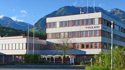 Gebäude der Kantonspolizei Obwalden im Foribach. (Bild: PD)