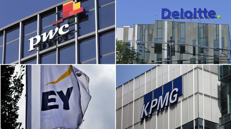 Der Bund und die «Big Four»: Die vier grossen Wirtschaftsprüfer kassieren Hunderte Millionen Franken vom Staat