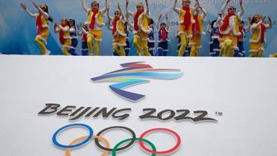 Die Winterspiele in Peking sind umstritten. (Ng Han Guan / AP)