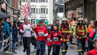 Impressionen vom vergangenen Luzerner Stadtlauf. (Bild: Nadia Schärli (Luzern,5. Mai 2019))