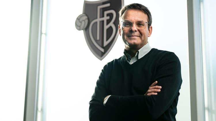 FCB-Vereinspräsident Reto Baumgartner fordert, dass die Weichen für die kommende Saison jetzt gestellt werden müssen. (Freshfocus)