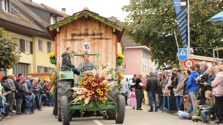 Das Winzerfest trägt zur kulturellen Identität von Döttingen bei. Im Leitbild wird die Bedeutung explizit festgehalten. (Philipp Zimmermann)
