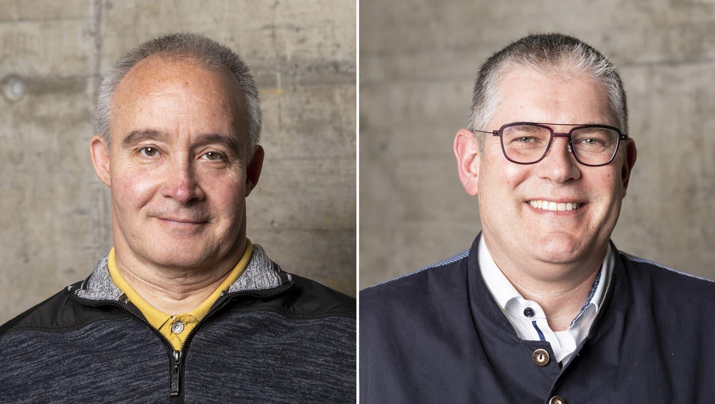 Vizeammann-Wahl: Zwischen Peter Lude und Peter Moser zeichnet sich ein Kopf-an-Kopf-Rennen ab