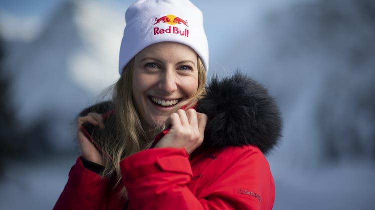 Hat gut Lachen: Fanny Smith, die erfolgreichste Skicrosserin aller Zeiten. (Bild: Keystone)