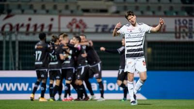 Arthur Cabral bringt den FCB in Führung. (Claudio Thoma / freshfocus)