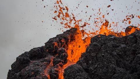 Lava-Spektakel: Atemberaubende Bilder vom Vulkanausbruch auf Island