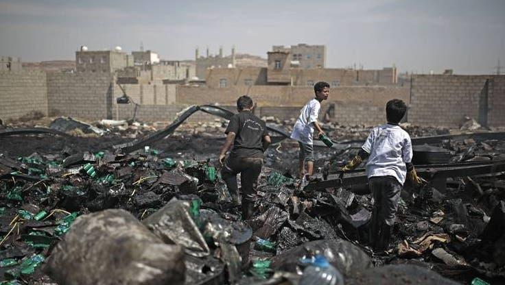 Im Bürgerkriegsland Jemen sind Millionen Menschen an Leib und Leben bedroht. (Keystone)