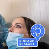 Nur geschultes Personal führt Antigen-Schnelltests durch. (Bild: Eveline Beerkircher)
