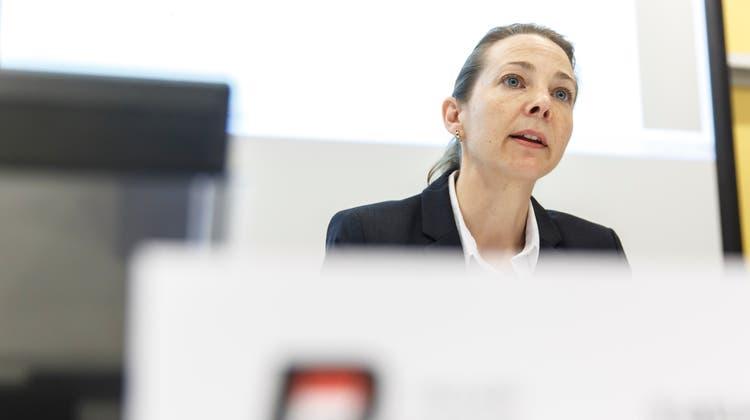 Fabienne Holland ist Chefin der Kriminalpolizei. (Bild: Hanspeter Bärtschi)
