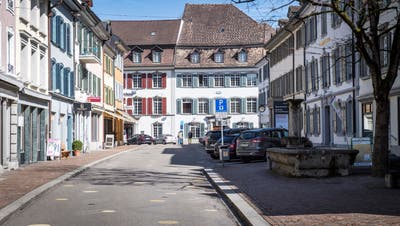 Die Freiestrasse in der Altstadt in Frauenfeld. (Bild: Reto Martin(23. März 2013))