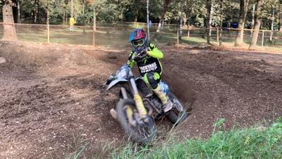 Aus dem Motocross-Knirps wurde ein Schweizer Meister: Marc Rütsche. (Bild: PD)