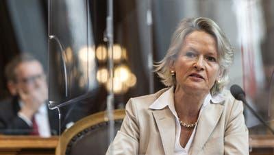 Die Luzerner Ständerätin Andrea Gmür will nicht mehr länger als Fraktionspräsidentin amten. (Keystone)