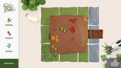 Im Online-Konfigurator können Nutzerinnen und Nutzer Gemüse, Früchte und Kräuter für ihren Garten auswählen. (Zvg / Aargauer Zeitung)