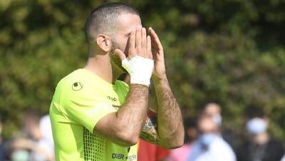 Aus der Traum vom möglichen Cup-Viertelfinal gegen Servette für Loic Chatton und den FC Solothurn. (Alexander Wagner)