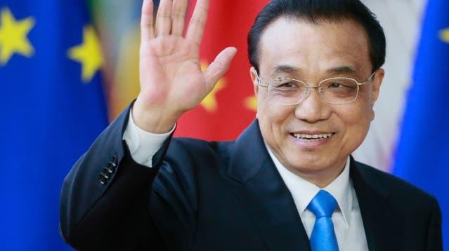 Der chinesische Ministerpräsident Li Keqiang bei einem Besuch in Brüssel in 2019. (Symbolbild) (Keystone)