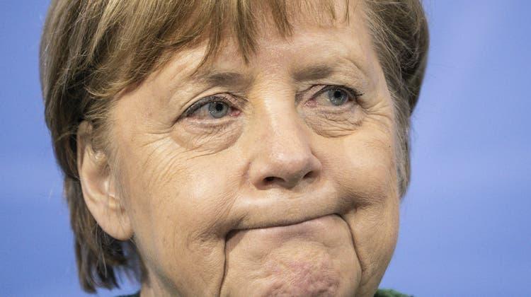 Hat in der Krise viel Vertrauen verspielt: Kanlzerin Angela Merkel. Findet sie den Weg aus dem Lockdown? (Michael Kappeler / AP)