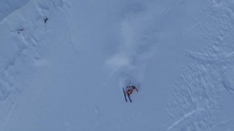 Skifahren extrem: Lausannerin wird Freeride-Weltmeisterin