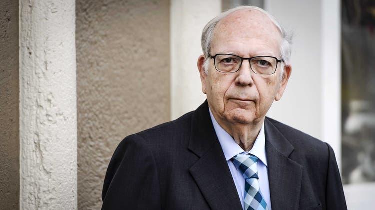 Efraim Halevy, Ex-Mossad-Chef, sagt: Sanktionen gegen Teheran haben nichts gebracht. (EPA)