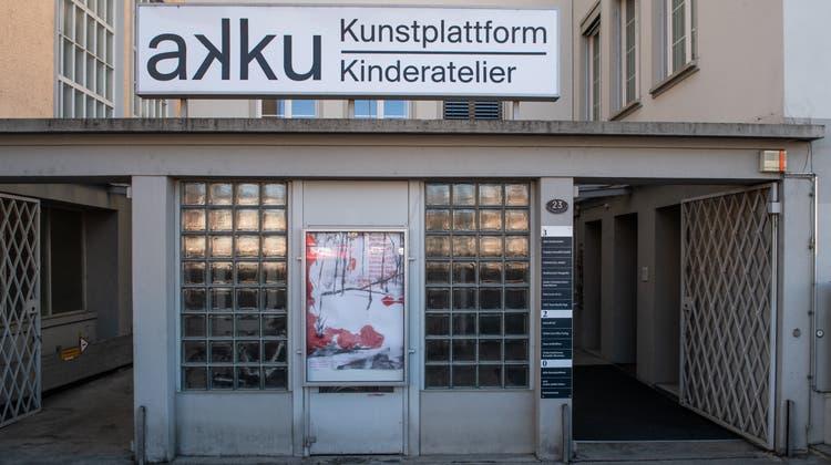 Die Kunstplattform Akku in Emmenbrücke. (Boris Bürgisser (2. März 2021))