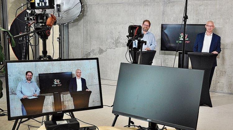 Stream statt Infoveranstaltung: Fusion macht aus Gemeindeammännern Videostars