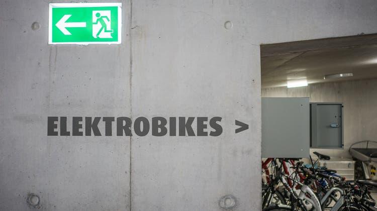 Ein Thema, das den Grünen/EVP besonders am Herzen liegt, ist die Förderung von E-Bikes. (Bild: Archiv/Michel Canonica)