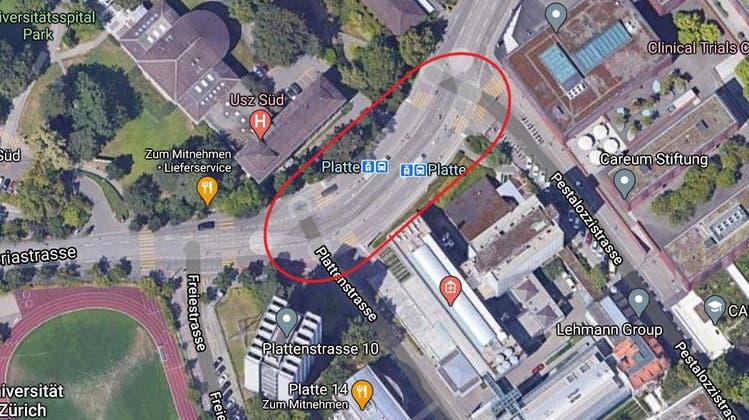Die Gloriastrasse wird am Wochenende in Fahrtrichtung Zoo gesperrt