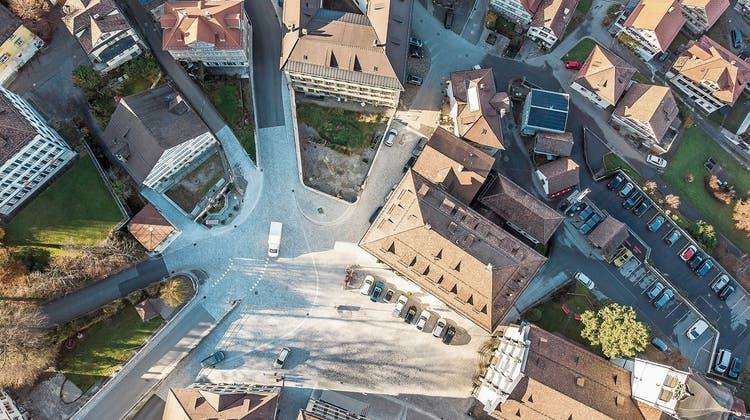 Neugestaltung des Landsgemeindeplatzes in Trogen steht vor der Vollendung – ob die feierliche Einweihung stattfinden kann, ist aber unklar
