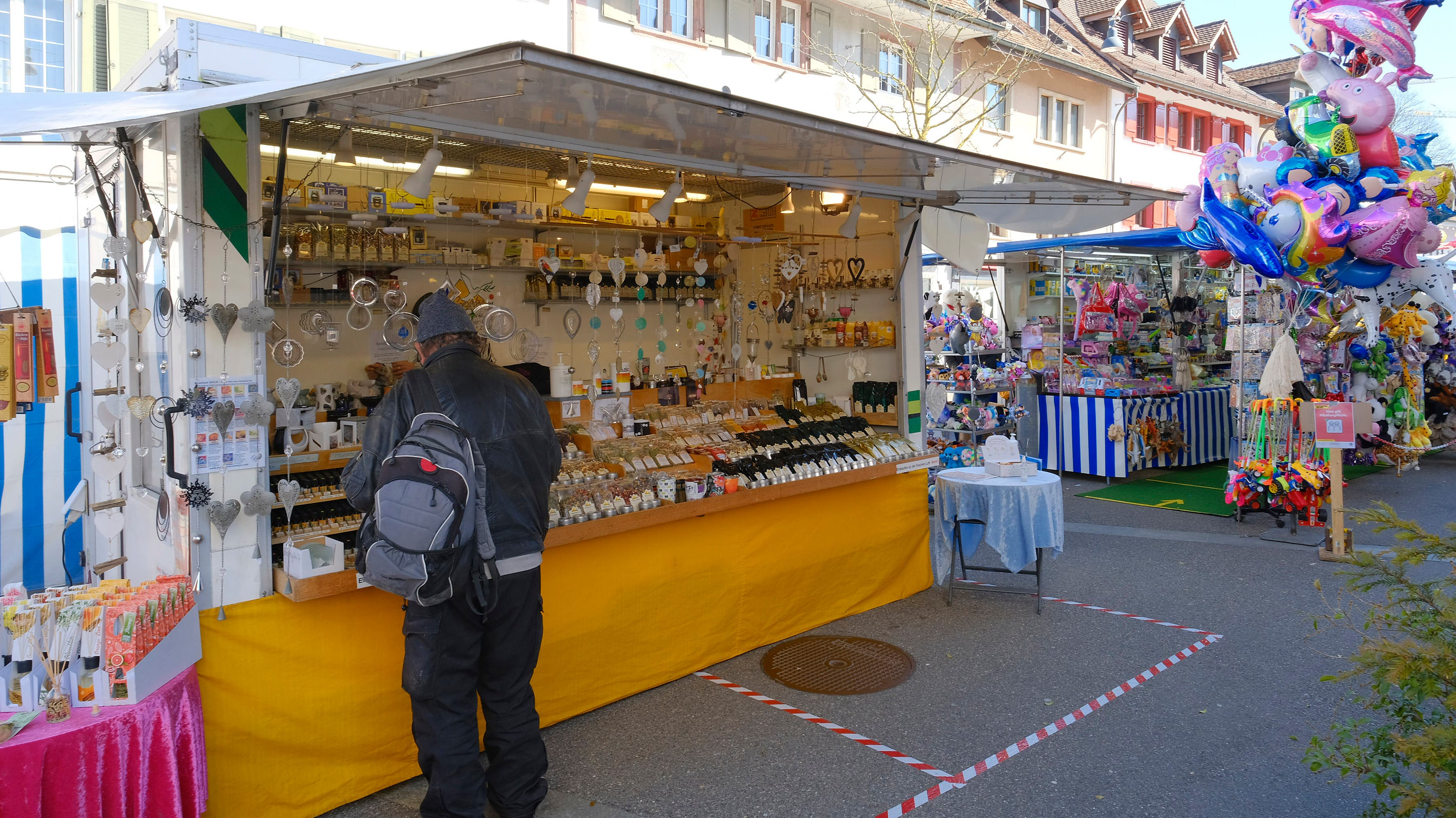 Rund 120 Stände waren am Sissacher Frühlingsmarkt vertreten.