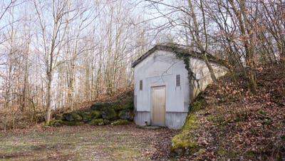 Der Eingang zum Reservoir Schöniberg. (Urs Byland)