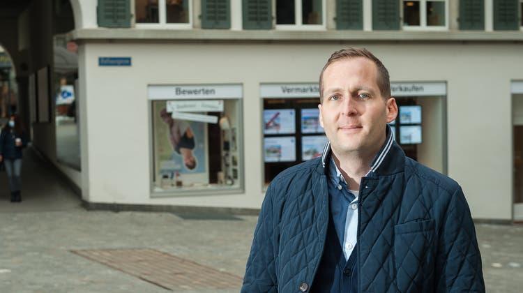 Simon Lienhard betreibt seit 2009 eine Filiale in Wettingen. Nun kommt er nach Baden (zvg / Romano Lienhard)