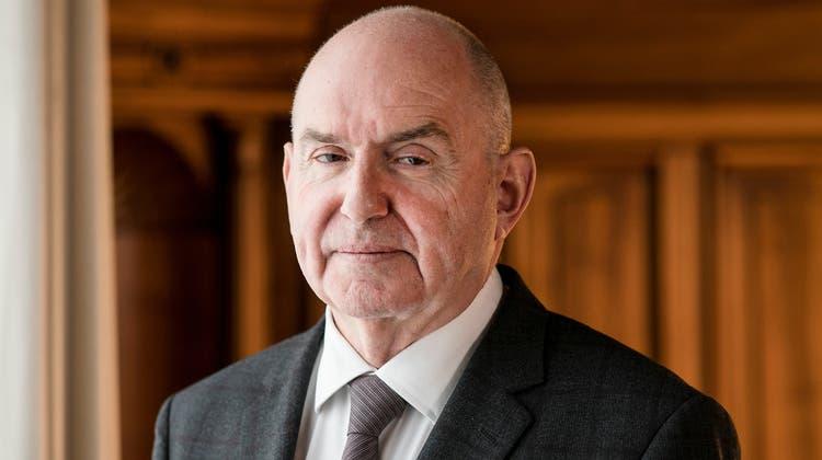 Sieht keinen Reformbedarf: Ex-Bundesgerichtspräsident Ulrich Meyer. (Sandra Ardizzone)