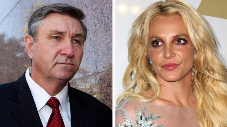 Auf der Bühne ein Star, privat dominiert vom Vater: Britney Spears. (Foto: Keystone)