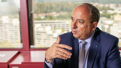 Finanzdirektor Markus Dieth. (Britta Gut)
