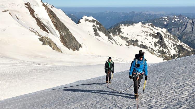 Gletschertrekking Sustenhorn 3503 m – Tierberg 3090 m- Juli/August 2021