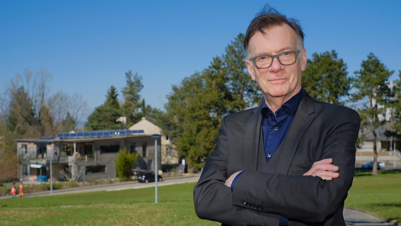 Der ehemalige Journalist Roger Ehret hatte immer eine Verbindung zum Bruderholz. (Bild: Kenneth Nars)