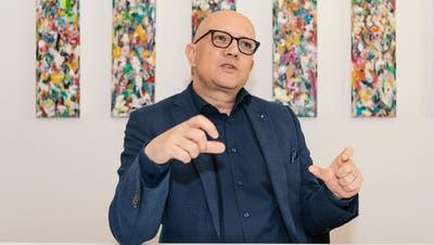 Nicolo Paganini ist Präsident des Schweizer Tourismus-Verbands. (Nik Roth)