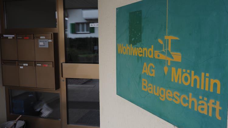 Sitz des Wohlwend Baugeschäfts ist Möhlin. (Hans Christof Wagner)