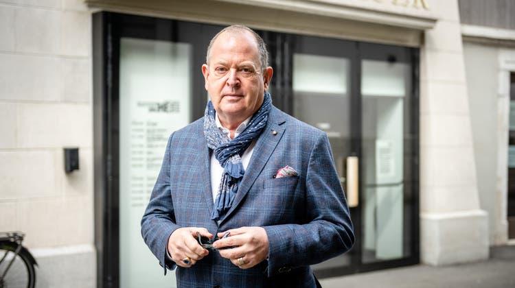 Dieter Kaegi, der Intendant Theaters und Orchester Biel Solothurn Tobs erklärt: «Im Mai müssen die Theater wieder öffnen». (Michel Lüthi)