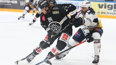 Das Tessiner Derby ist äusserst unterhaltsam. Der HC Lugano gewinnt auch das fünfte Derby in dieser Saison. (freshfocus)