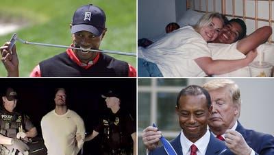 Golfer Tiger Woods ist zu einer Person der Zeitgeschichte geworden. (Lee Jin-Man / AP)