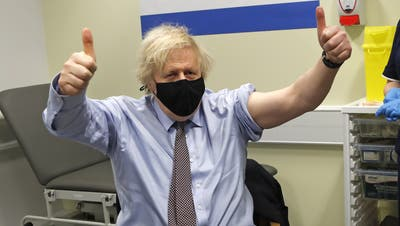 Legt den Grundlage für einen eindrücklichen Aufschwung der britischen Wirtschaft: Premier Boris Johnson. An ihm könnte sich die SVP orientieren. (Frank Augstein / AP)