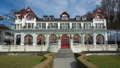 Das Hotel und Restaurant Seeburg in Luzern sind seit Dezember 2020 geschlossen. Der Pächter musste die Lokalitäten räumen. (Bild: Dominik Wunderli)