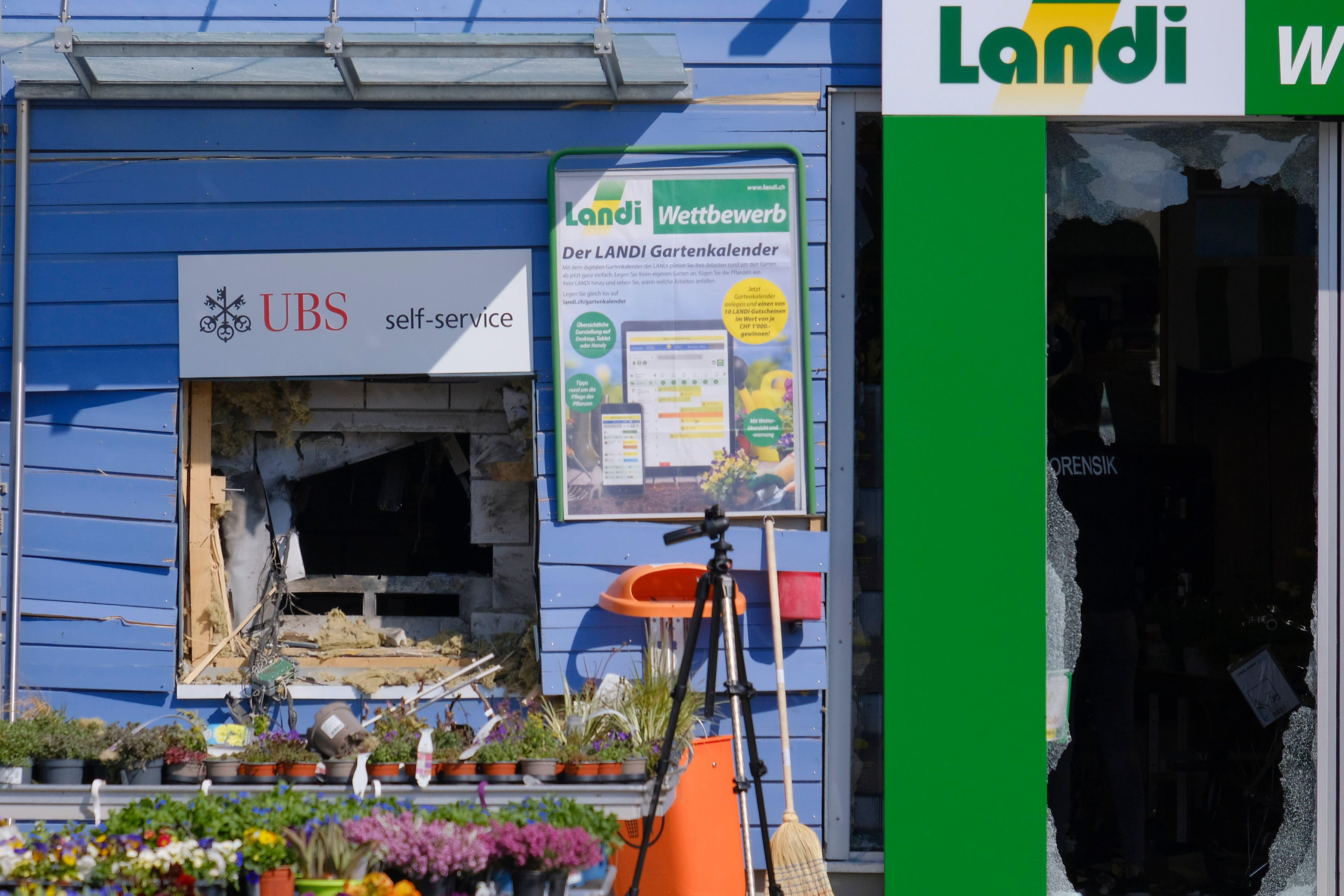 Der Landi-Geschäftsleiter schätzt den Gebäudeschaden auf einen hohen fünfstelligen Betrag.