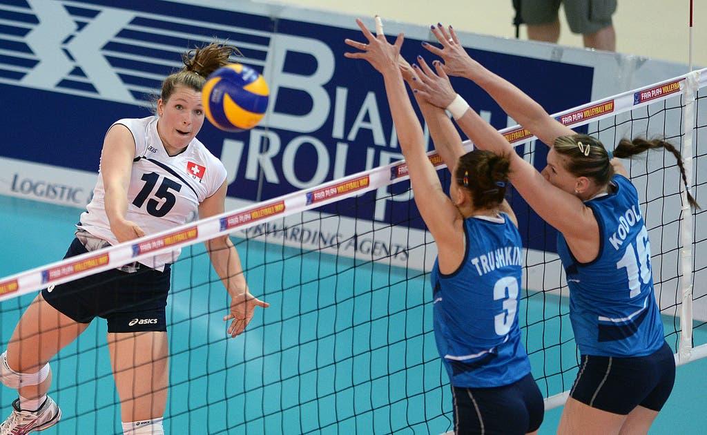 Die 29-jährige Schweizerin Sarah Van Rooij wird in der nächsten Saison für Sm'Aesch Pfeffingen auf Punktejagd gehen.