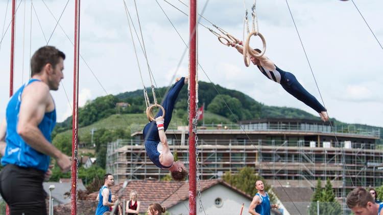 Im Laufental wird es 2021 kein Turnspektakel geben. Das Kantonalturnfest fällt der Pandemie zum Opfer. (Roland Schmid (Archivbild))