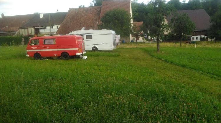 Wohnmobil-Stellplatz in Bennwil. (Bild: zvg)