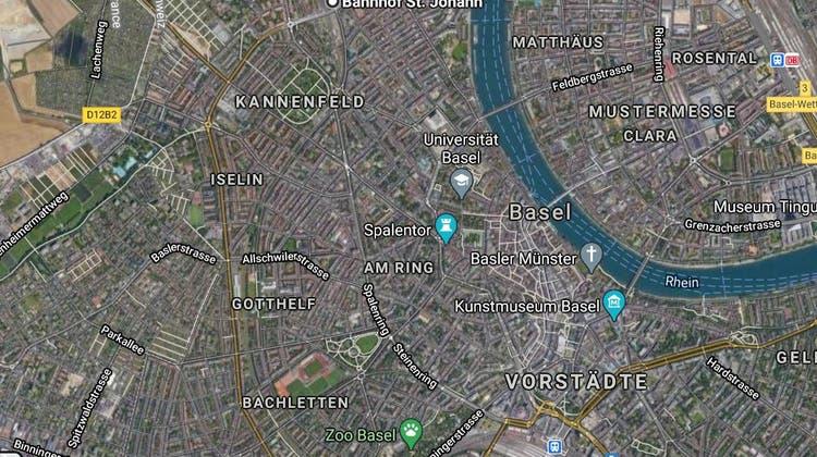 Auf Höhe Morgartenring wurde der leblose Mann auf den Gleisen gefunden. (Google Maps)