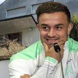 Fussballstar Xherdan Shaqiri will am Kapuzinerberg in Rheinfelden bauen. (Nadine Böni / Aargauer Zeitung)