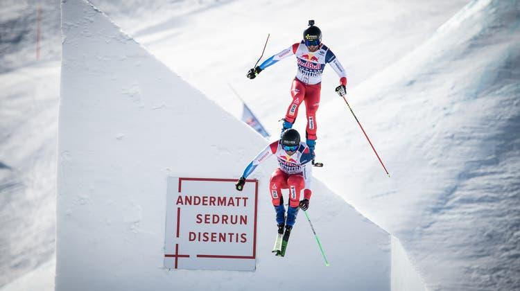 Die frisch gekürte Skicross-Weltmeisterin Fanny Smith nahm ebenfalls am Red Bull SuperSkicross teil. (Bild: PD)