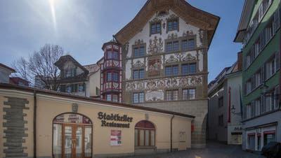 Der Stadtkeller in der Luzerner Altstadt. (Bild: Pius Amrein  (28. März 2021))